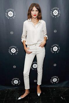 Sunday´s Inspiration: The Basic White Shirt | BeSugarandSpice - Fashion Blog