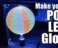In this project I will show you how I combined a couple steel pieces with an Arduino, an APA102 LED Strip and a Hall effect sensor in order to create a POV (persi...