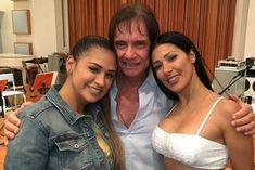 Roberto Carlos recebe Simone e Simaria em especial