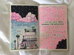 Art Journaling 101 — fuckyeahmoleskines: @hazedhowell