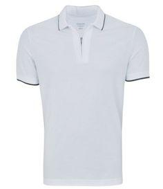 424dd51d85 camisa polo masculina com fechamento em zíper