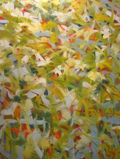 """Steven Miller Untitled #11 48x46"""" oil on canvas details at wwww.stevenwmiller.com"""