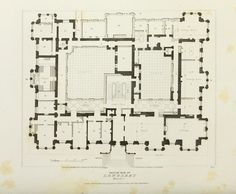 Longleat ground floor plan