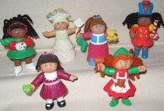 Cabbage Patch McDonald's toys. I had all of these too!