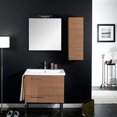 """30.5"""" Nameeks Iotti Simple NS10 Bathroom Vanity #BathroomRemodel #BlondyBathHome #BathroomVanity  #ModernVanity"""