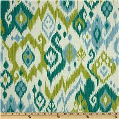 Swavelle/Mill Creek Gunnison Geyser Fabric By The Yard Linen Upholstery Fabric, Ikat Fabric, Furniture Upholstery, Blue Fabric, Cotton Fabric, Wall Fabric, Upholstery Nails, Upholstery Cleaning, Pillow Fabric