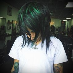 green hair by Christian Ariel at iStyle XG