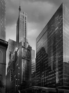 """Photo by Jean Michel Berts portraitist of cities specializing in black and white photos. Photo of the book """"Light of New York"""" Ed: Assouline Wordpress, Assouline, Jean Michel, Park Avenue, City Lights, Empire State Building, New York City, Skyscraper, Architectural Photography"""