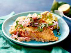 Lachs-Rezepte – die besten Ideen mit feinem Fisch - ofen-knusperlachs  Rezept