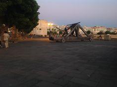 Lungomare Algherese, Catapulte