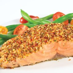 Tomato-Basil-Salmon... Tonight's dinner by me