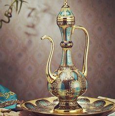 #ankamall #ankara #decorium #interior Bottle Box, Ankara, Pooja Rooms, Arabian Nights, Coffee Set, Fabric Painting, Car Accessories, Tea Set, Cool Furniture