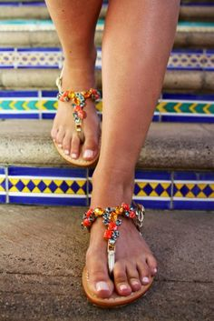 capri sandals, perfect for vacation