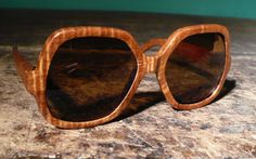 Impossible to convey how much I want a pair of these wooden sunglasses by a Chicago based designer. Wooden Sunglasses, Pairs, Chicago, Accessories, Frames, Bright, Collections, Eye, Future
