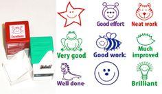 Teacher reward stamps.
