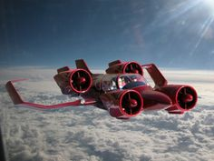 The Moller VTOL (Vertical Take-off and Landing) car/aircraft is my dream vehicle - George Jetson meets James Bond...