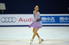 Mao Asada smiles after her performance in the ladies' free program on Saturday in Beijing. | AFP-JIJI (4000×2670) http://www.japantimes.co.jp/sports/2015/11/07/figure-skating/mao-claims-cup-of-china-title-hongo-places-second/#.VkMdq9LhDMx
