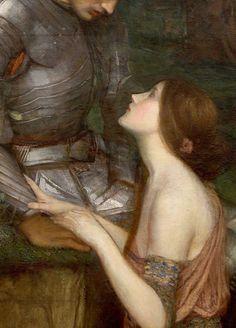 ♔ 'Lamia' (detail) ~ by John William Waterhouse (1849-1917).