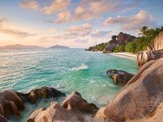 La Digue Beach Seychelles (click to view)