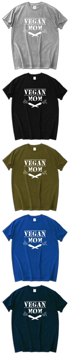 Cool VEGAN MOM Shirt 2017 new summer cotton 100% men tshirt casual pattern t-shirt fashion brand tee shirt 2017 homme
