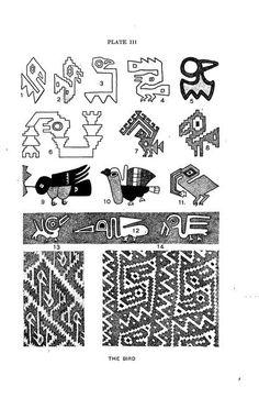 Peruvian Inca art - Inspiration for Condor bird design