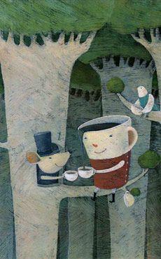 Minako Chiba - playful illustrations