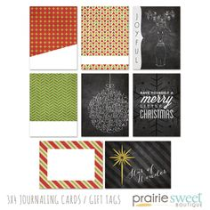 Christmas-Journaling-Cards
