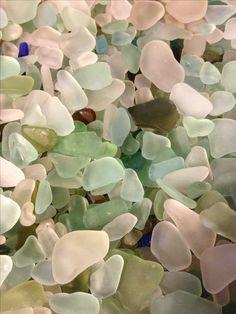 Maui beach glass.  Love the soft colors