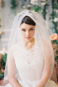 A Romantic Collection of Veils and Bridal Hair Accessories from January Rose Bridal