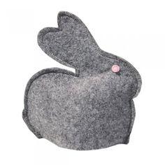 2 króliczki szare (proj. Lilyshop)