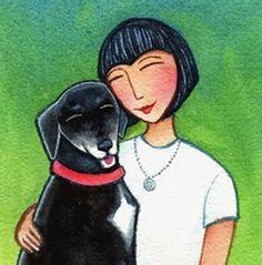 Susan Faye Watercolor, Cutest Pet Artwork