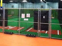 Indoor Batting Cages