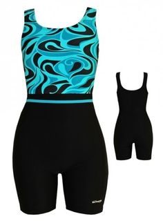 Waterpro Tango Print Unitard | Chlorine Resistant Swimwear - Swim & Sweat