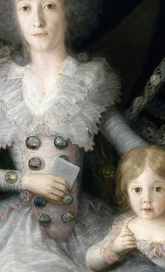 Francisco de Goya y Lucientes, The Duke and Duchess of Osuna and their Children, 1787-1788.detail