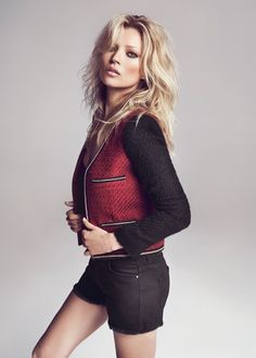 Kate Moss for MANGO!