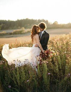 rustic romantic | image via: green wedding shoes