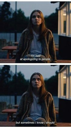 the end of the f***ing world on We Heart It Tv Show Quotes, Film Quotes, Romance Quotes, Quotes Quotes, Qoutes, Funny Quotes, Movies Showing, Movies And Tv Shows, Fille Gangsta