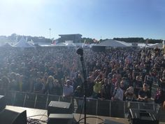 Magic Pie stage view from SRF 2013