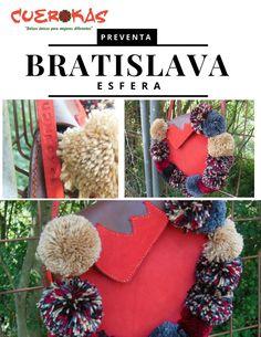 Y que te miren!! Desde luego Bratislava rojo llama la atención. Espectacular diseño exclusivo de la nueva colección Cuerokas. Disponible en preventa privada