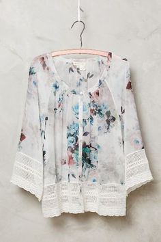 Glenneyre Peasant Top - anthropologie.com #anthrofave
