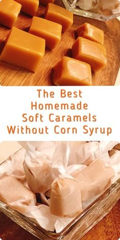 The best homemade soft caramels (NO corn syrup and you do NOT need a candy thermometer). It melts in your mouth! Japanese Nama-Caramels.