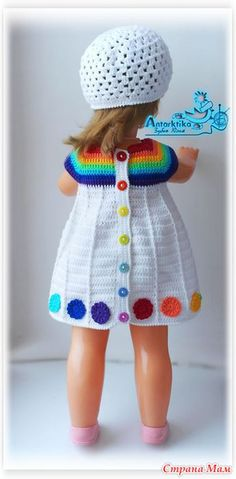 Всем доброго времени суток! Доча пошла в садик, и маму-рукодельницу сразу раскусили И озадачили одеть куклу  Кукла не маленькая, полметра в высоту.