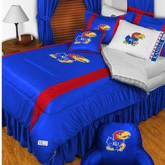 Kansas Jayhawks Comforter Set