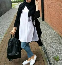 long white tunic hijab- How to wear long tunic with hijab…