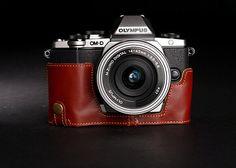 Olympus EM10 Case OMD EM10 Ledertasche für von CamerasBagShop
