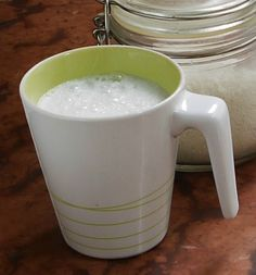 Egg Replacement, Glass Of Milk, Paleo, Dairy, Gluten, Mugs, Drinks, Tableware, Smoothie