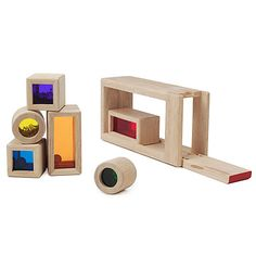Look what I found at UncommonGoods: Rainbow Sound Blocks for $44 #uncommongoods