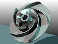 impeller of a centrifugal pump