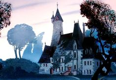 The house featured in the animated movie 'Cinderella'