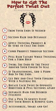How to for natural hair